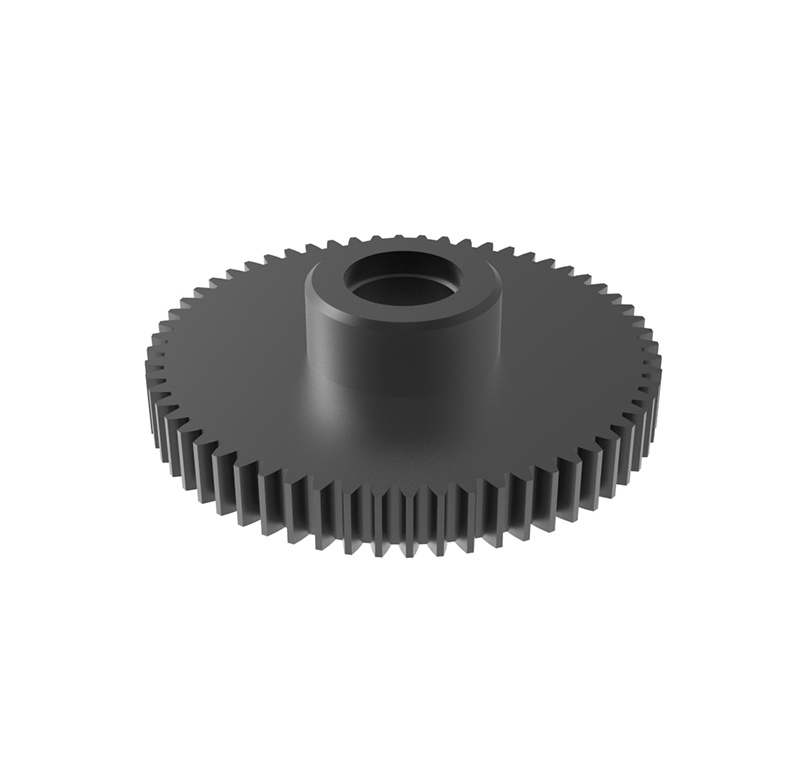 Engranaje de metal Módulo 0.600, Dientes 60Z, Forma