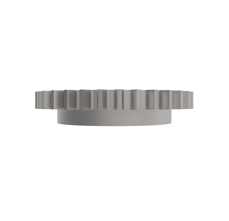 Engranaje de metal Módulo 1.000, Dientes 32Z, Forma con bulon