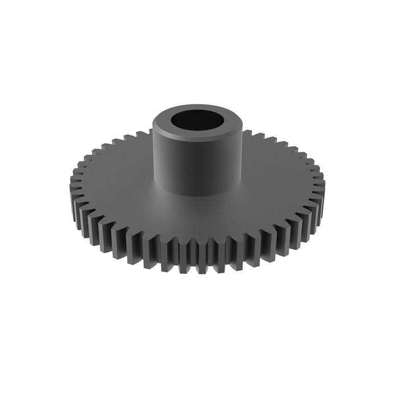 Engranaje de metal Módulo 0.80, Dientes 48Z, Forma recto