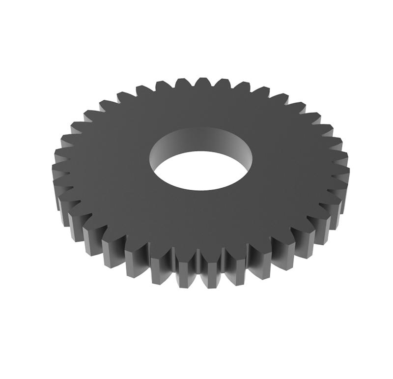 Engranaje de metal Módulo 0.600, Dientes 37Z, Forma