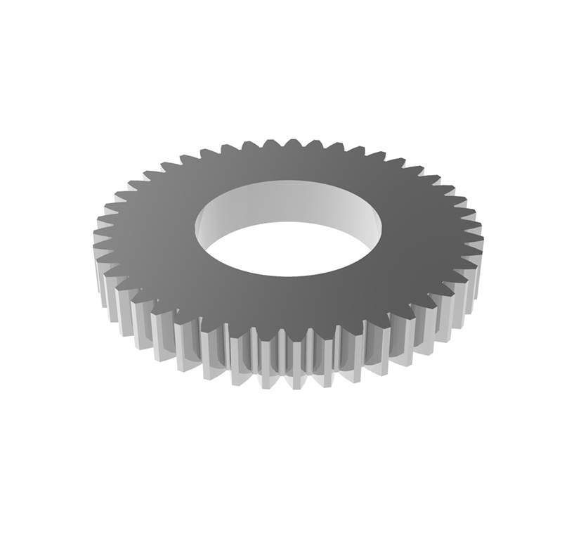Engranaje de metal Módulo 0.40, Dientes 45Z, Forma recto