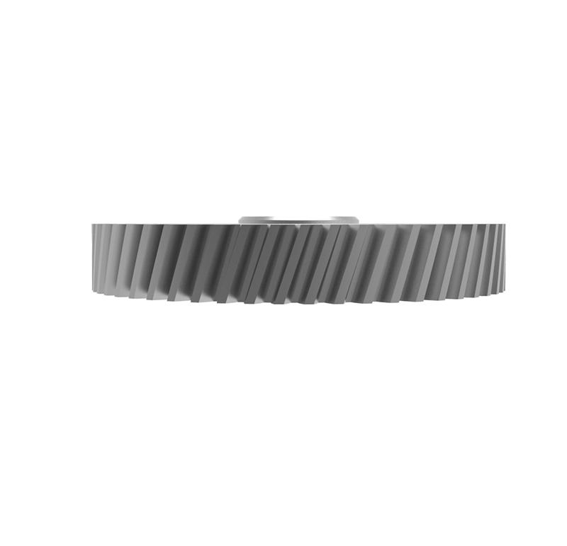 Engranaje de metal Módulo 1.000, Dientes 53Z, Forma con bulon
