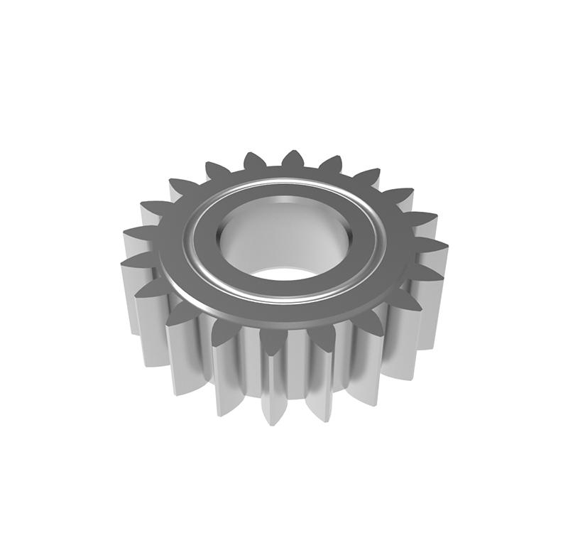 Engranaje de metal Módulo 0.450, Dientes 20Z, Forma