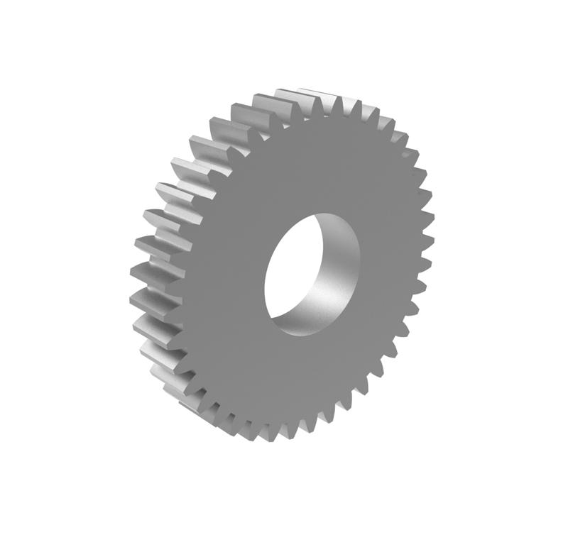 Engranaje de metal Módulo 0.750, Dientes 39Z, Forma recto