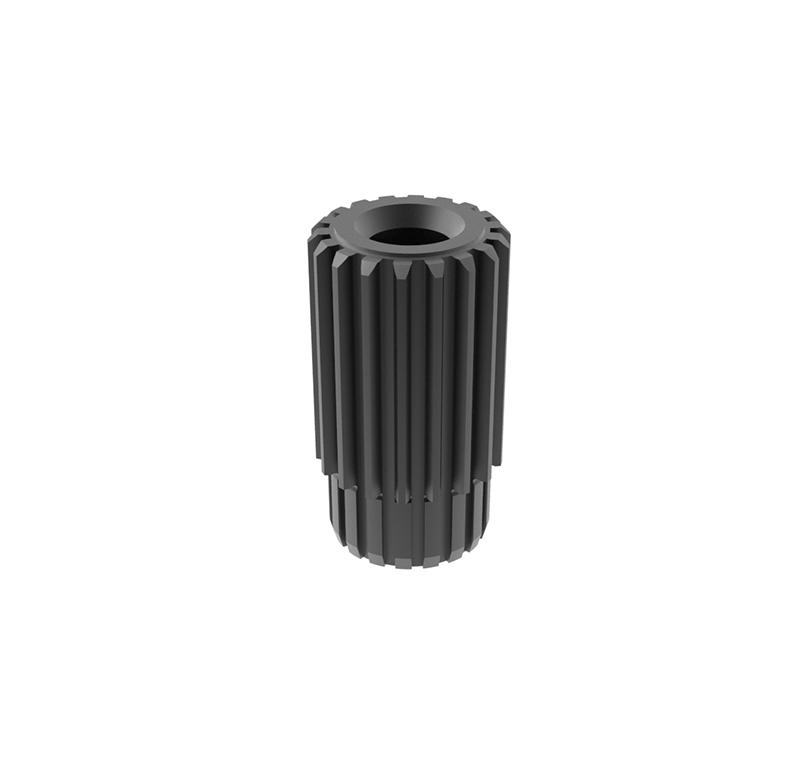 Engranaje de metal Módulo 0.450, Dientes 18Z, Forma con bulon