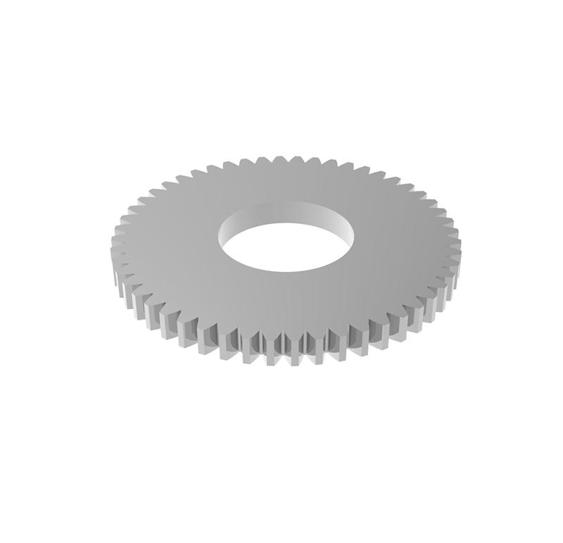 Engranaje de metal Módulo 0.600, Dientes 52Z, Forma