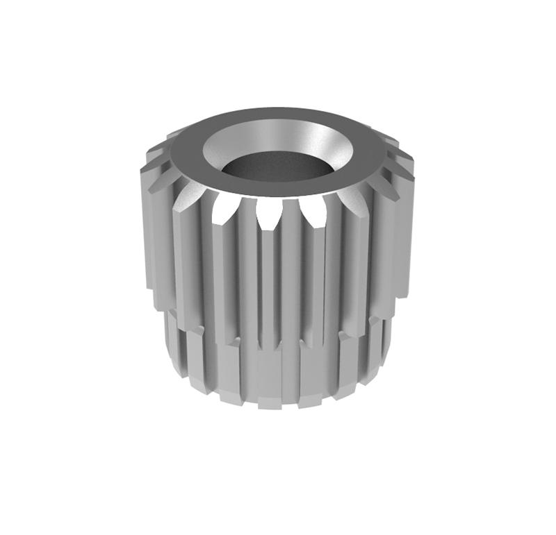Engranaje de metal Módulo 0.450, Dientes 18Z, Forma