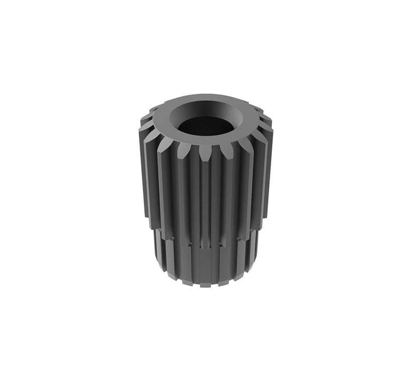 Engranaje de metal Módulo 0.450, Dientes 18Z, Forma con piñon