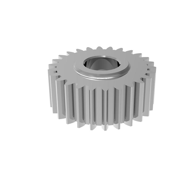 Engranaje de metal Módulo 0.55, Dientes 26Z, Forma recto