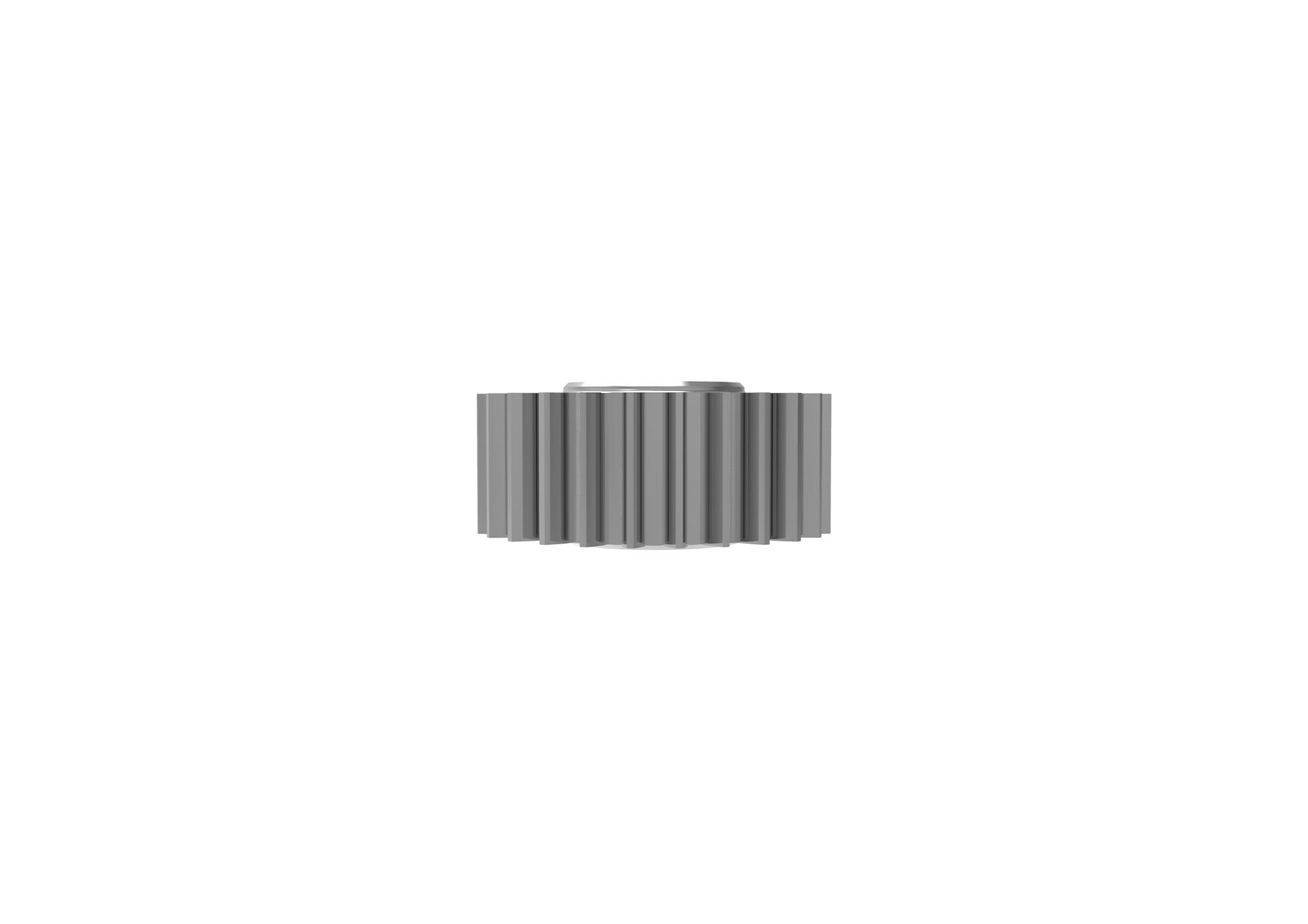Engranaje de metal Módulo 0.550, Dientes 26Z, Forma