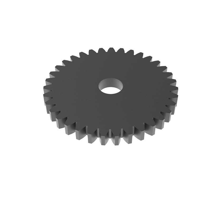Engranaje de metal Módulo 0.600, Dientes 35Z, Forma