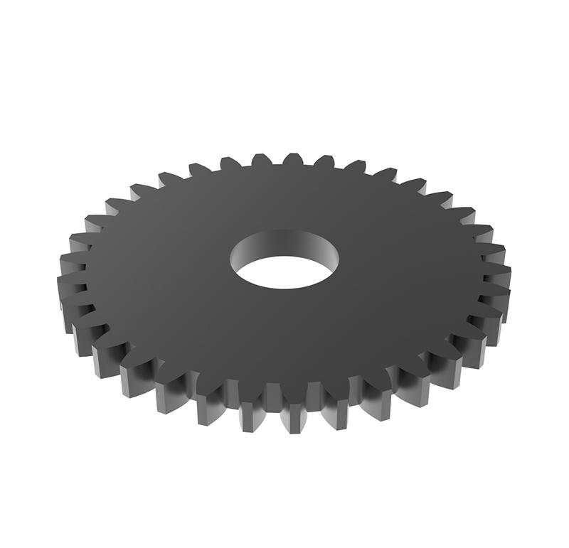 Engranaje de metal Módulo 1, Dientes 35Z, Forma recto