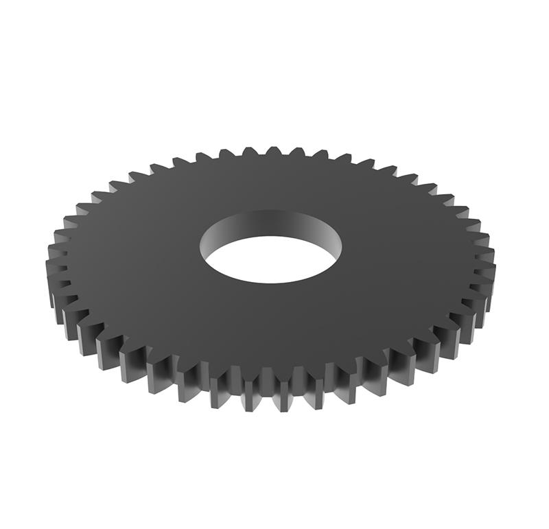 Engranaje de metal Módulo 0.7, Dientes 47Z, Forma recto