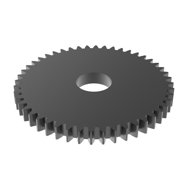Engranaje de metal Módulo 0,7, Dientes 48Z, Forma recto