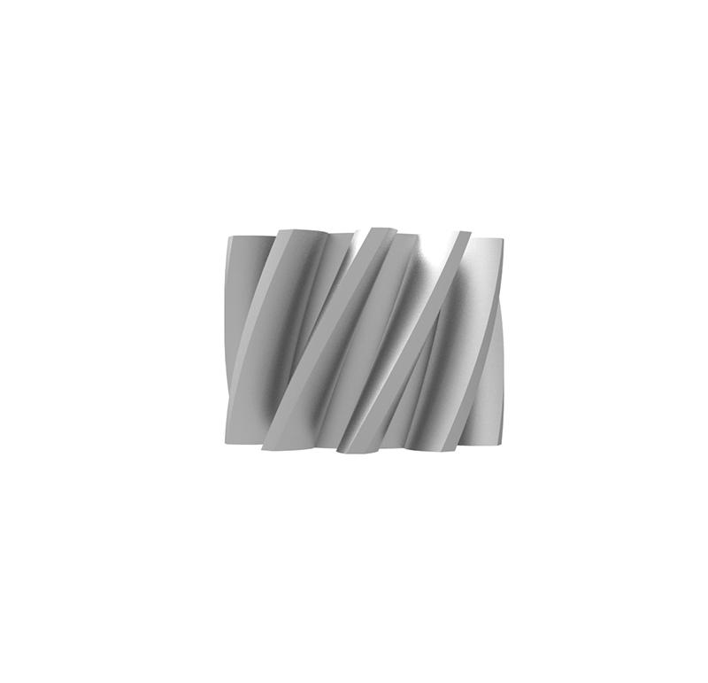 Piñón de metal Módulo 0.750, Dientes 10Z, Forma helicoidal