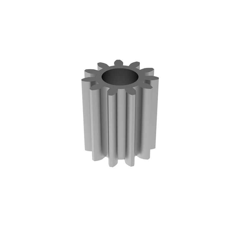 Engranaje de metal  Módulo 0.500, Dientes 11Z, Forma recto