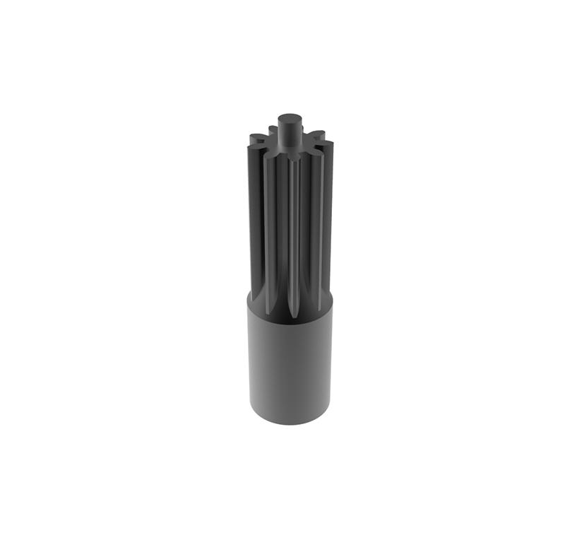 Engranaje de metal  Módulo 0.500, Dientes 9Z, Forma recto