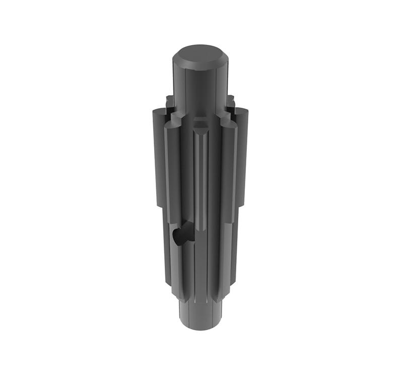 Piñón de metal Módulo 1.250, Dientes 8Z, Forma recto