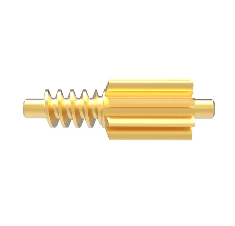 Piñón de metal Módulo 1.500, Dientes 9Z, Forma recto