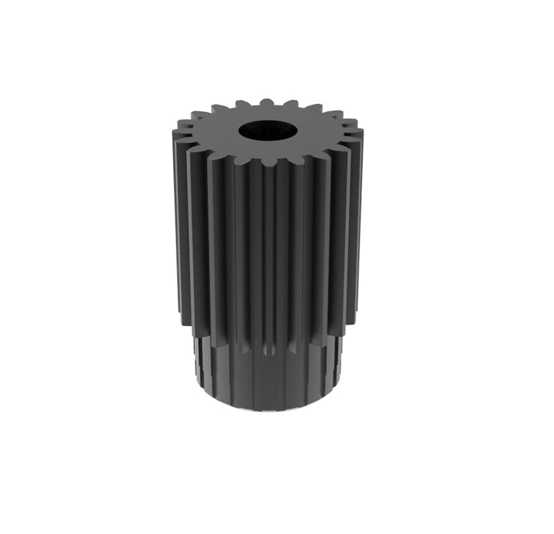 Piñón de metal Módulo 0.300, Dientes 20Z, Forma recto