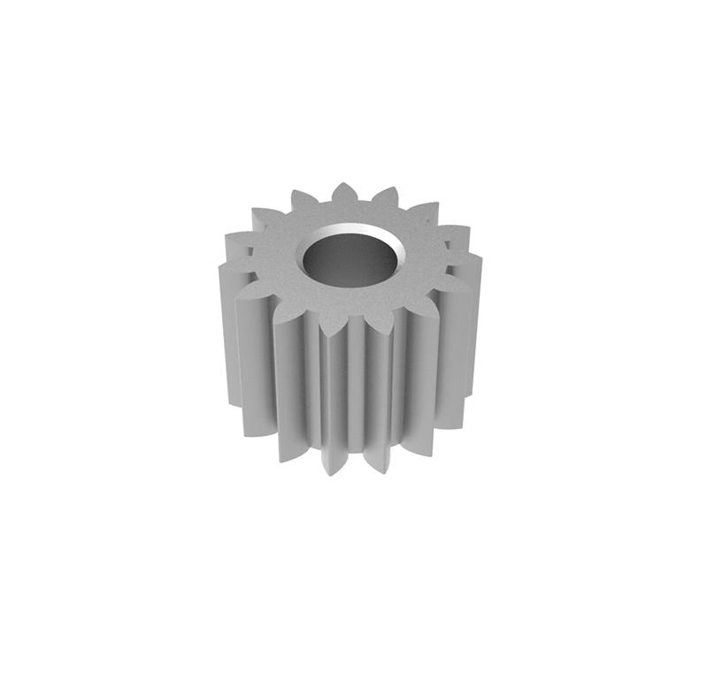 Engranaje de metal  Módulo 0.500, Dientes 15Z, Forma recto