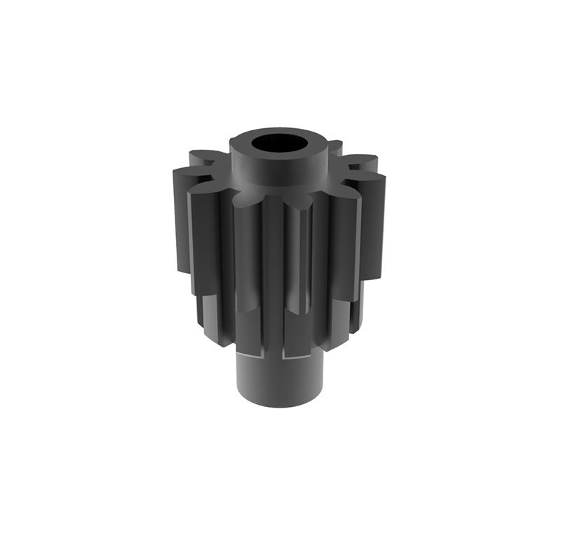Piñón de metal Módulo 0.600, Dientes 11Z, Forma recto