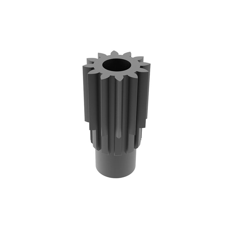 Engranaje de metal  Módulo 0.500, Dientes 12Z, Forma recto