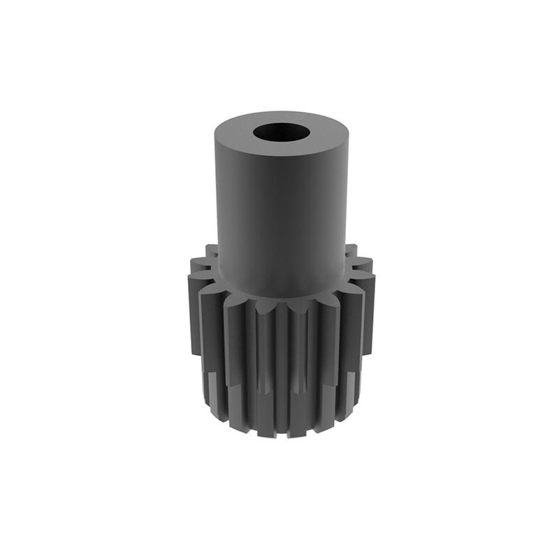 Piñón de metal Módulo 0.500, Dientes 16Z, Forma recto