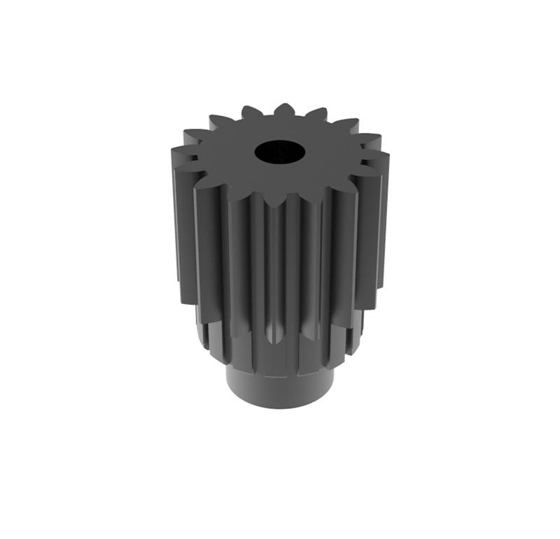 Engranaje de metal Módulo 0.600, Dientes 16Z, Forma