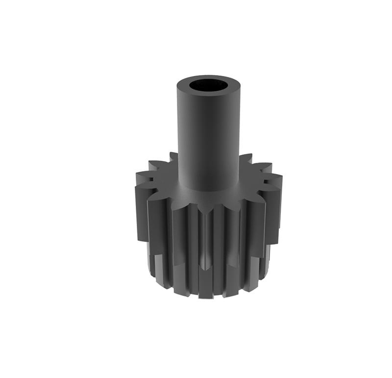 Piñón de metal Módulo 0.600, Dientes 15Z, Forma recto