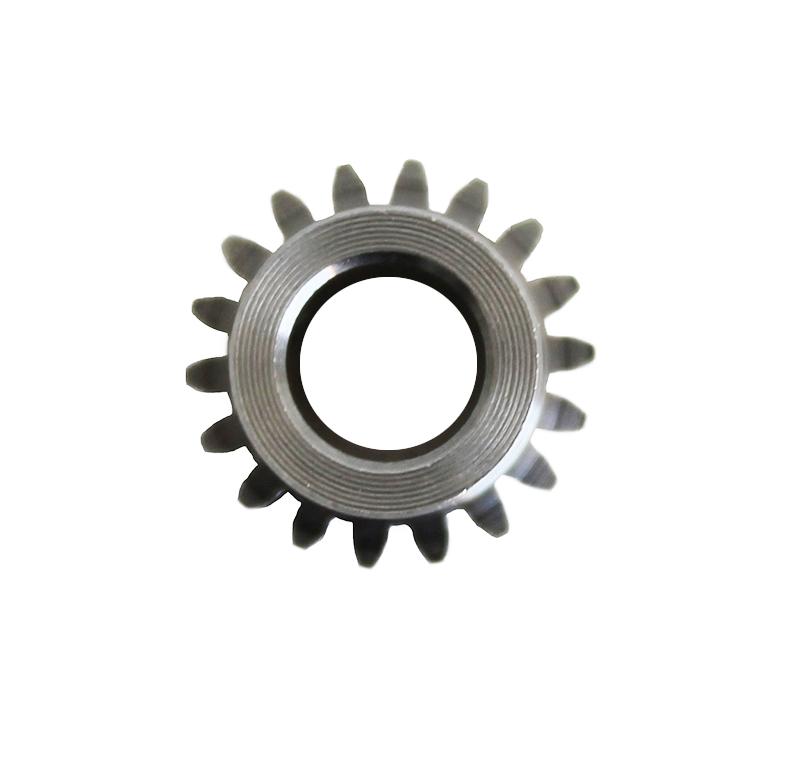 Piñón de metal Módulo 0.750, Dientes 18Z, Forma recto