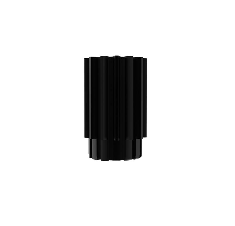 Piñón de metal Módulo 0.600, Dientes 14Z, Forma recto