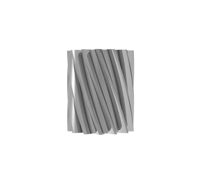 Piñón de metal Módulo 0.400, Dientes 14Z, Forma helicoidal