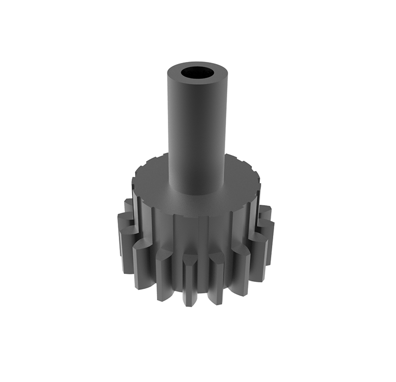 Piñón de metal Módulo 0.600, Dientes 17Z, Forma recto