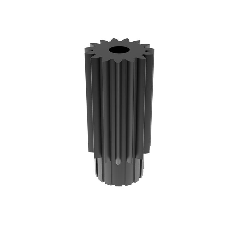 Piñón de metal Módulo 0.400, Dientes 15Z, Forma recto