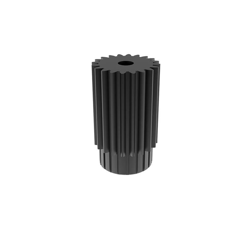 Engranaje de metal  Módulo 0.400, Dientes 20Z, Forma recto