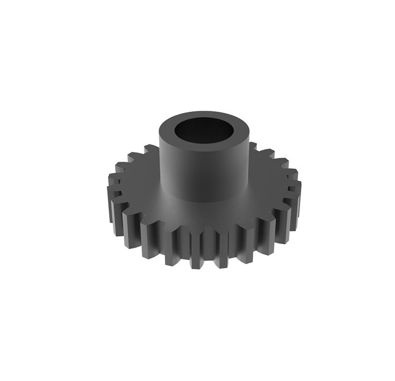 Piñón de metal Módulo 0.400, Dientes 24Z, Forma recto