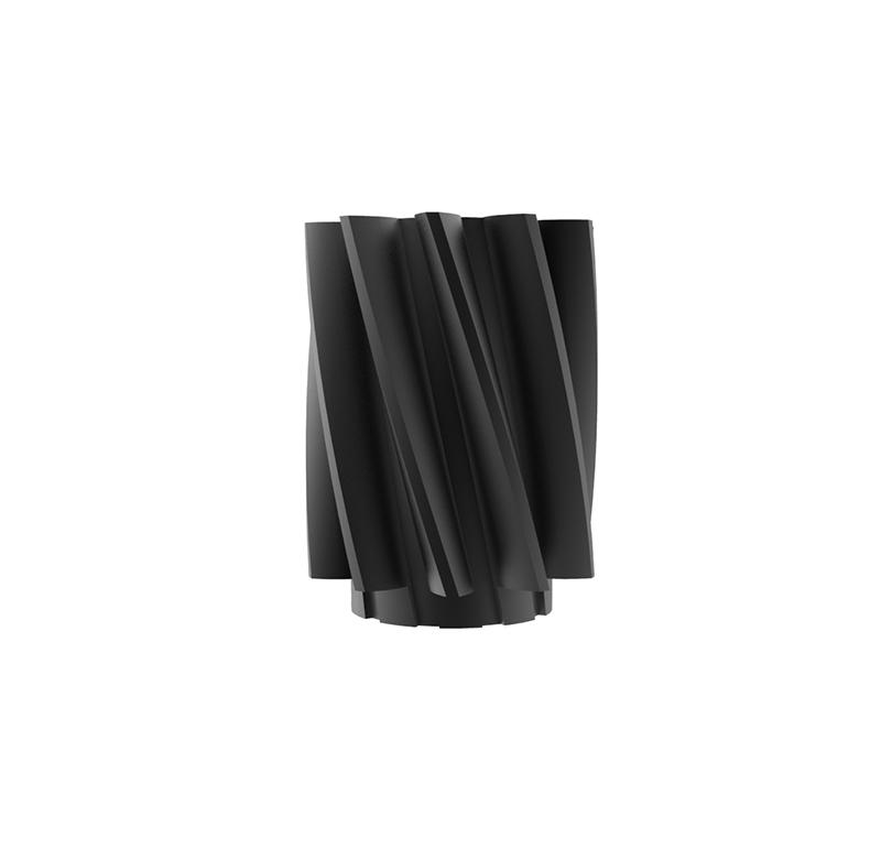 Piñón de metal Módulo 0.600, Dientes 10Z, Forma helicoidal