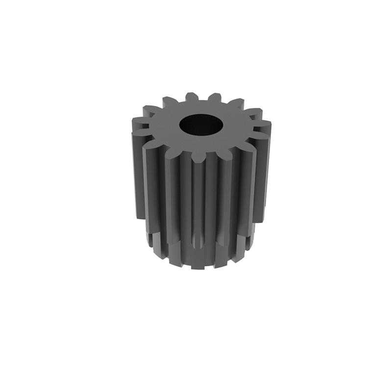 Engranaje de metal  Módulo 0.750, Dientes 15Z, Forma recto