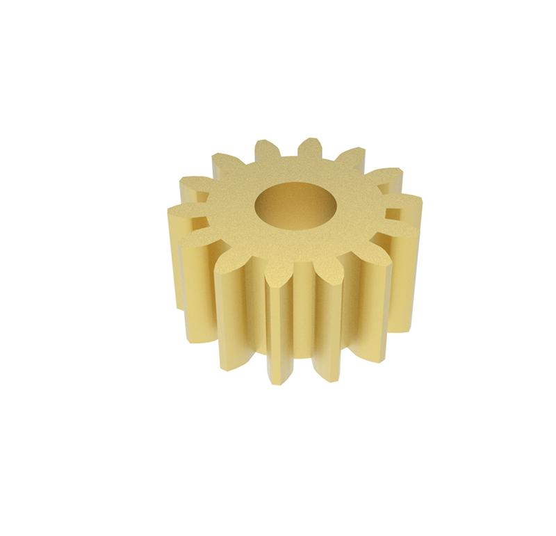Engranaje de metal  Módulo 0.400, Dientes 14Z, Forma recto