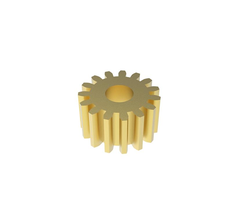 Engranaje de metal  Módulo 0.400, Dientes 15Z, Forma recto