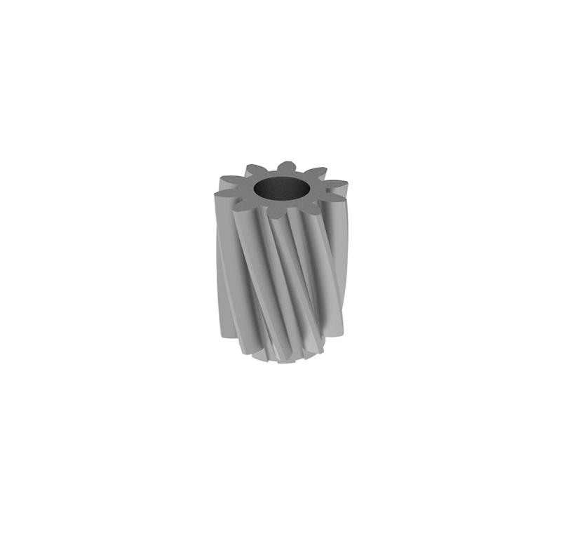 Piñón de metal Módulo 0.000, Dientes 0Z, Forma