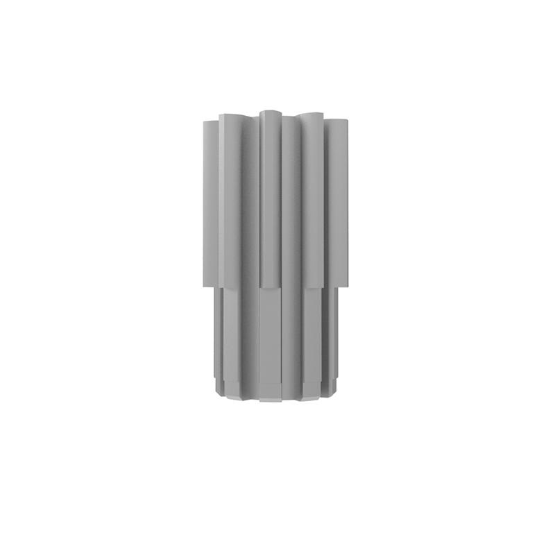 Piñón de metal Módulo 0.550, Dientes 9Z, Forma recto
