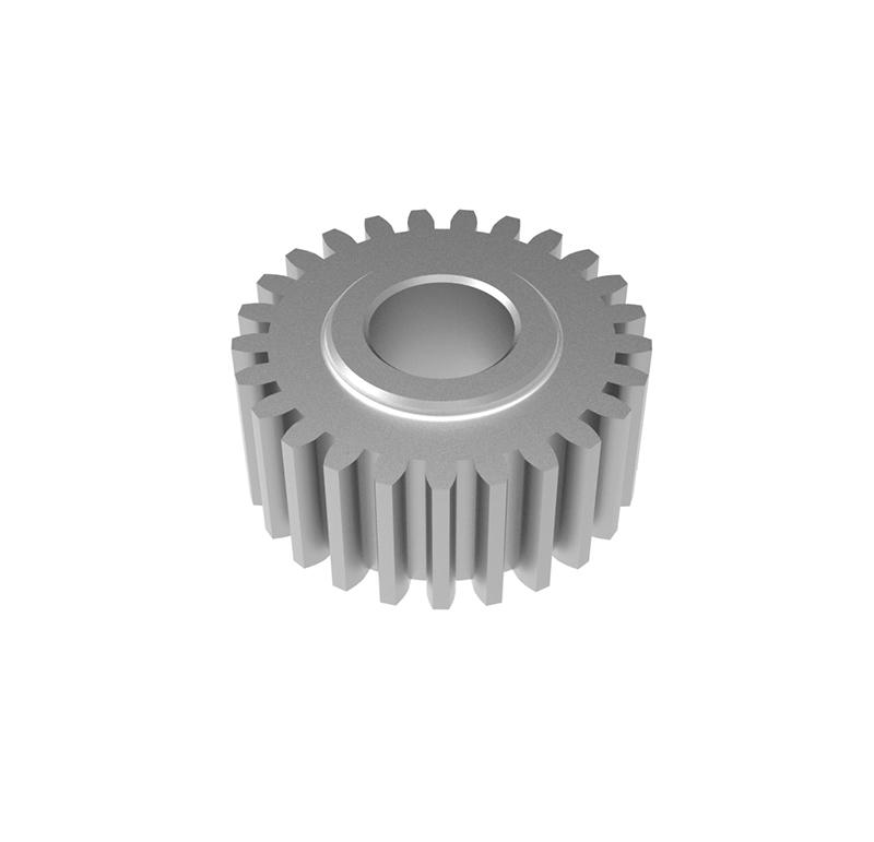 Engranaje de metal  Módulo 0.550, Dientes 25Z, Forma recto