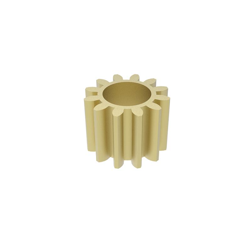 Engranaje de metal  Módulo 0.250, Dientes 12Z, Forma recto