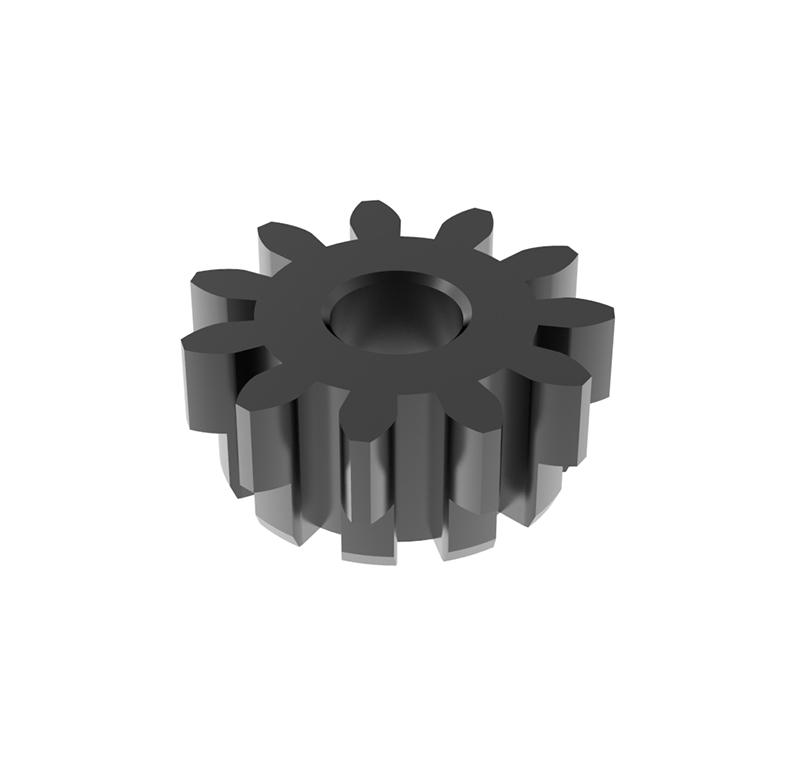Piñón de metal Módulo 1.000, Dientes 11Z, Forma recto