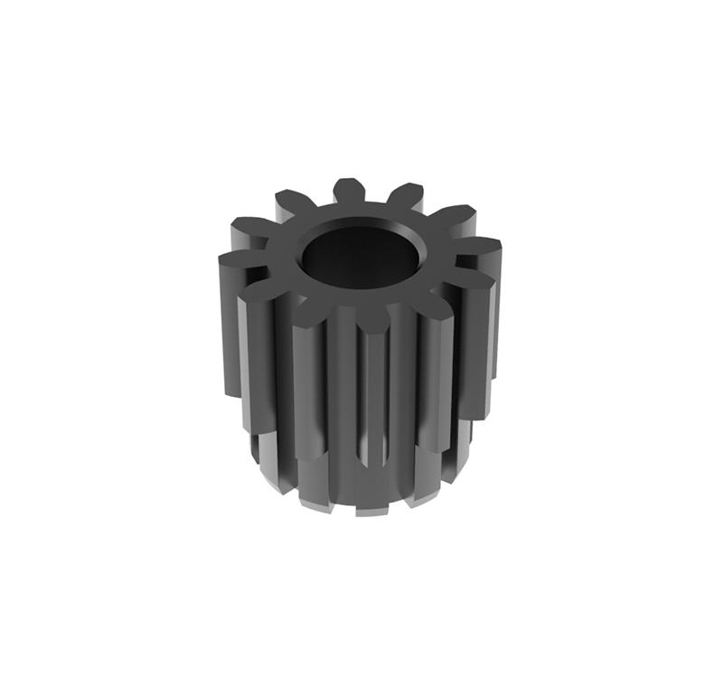 Piñón de metal Módulo 0.700, Dientes 12Z, Forma recto
