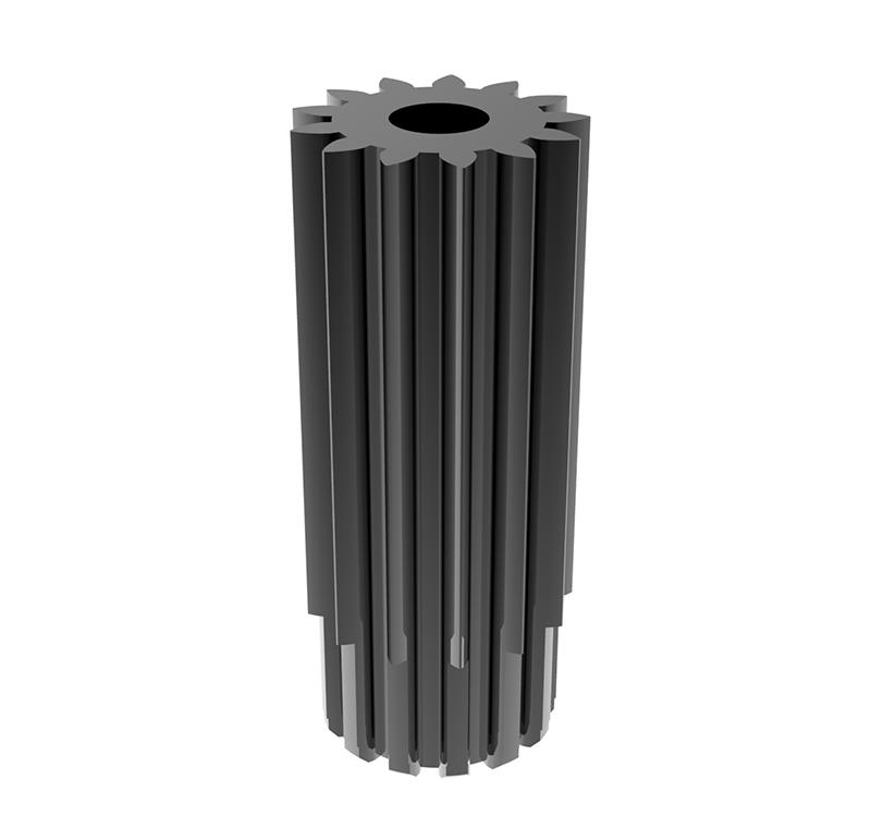 Piñón de metal Módulo 0,400, Dientes 13Z, Forma recto