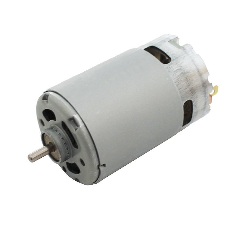 Motor Corriente DC, Voltaje 12.00V, R.P.M. 7300rpm - RS-550 PC 4065
