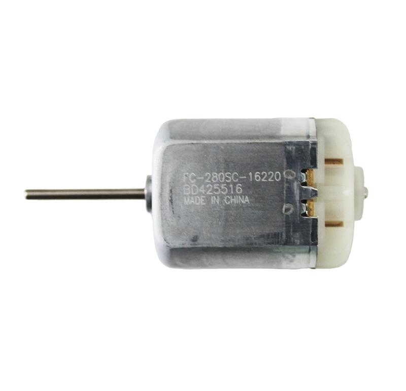 Motor Corriente DC, Voltaje 12.00V, R.P.M. 7900.00rpm - FC-280SC-16220